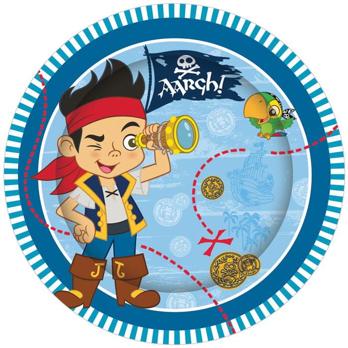 E2114-Jake-and-the-Neverland-Pirates-Plate
