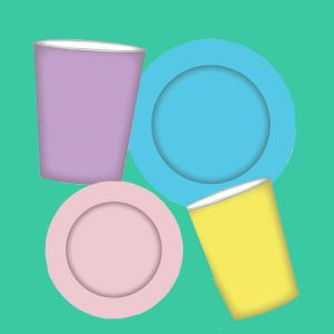 Solid Coloured Tableware